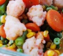 蝦球燴什錦雜蔬