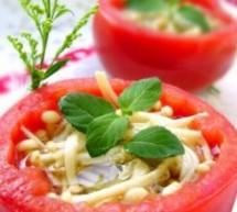 橄欖油菌菇盅