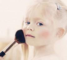 寶寶過早化妝的危害?
