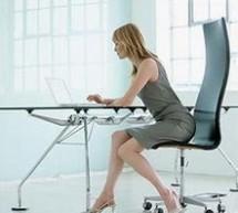 """上班族該如何在久坐的情況下保證""""孕""""氣呢?"""