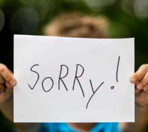 讓孩子學會道歉的重要意義!如何教孩子學會道歉